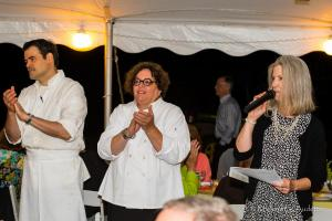 Farm to Table Dinner (13 of 85) chefs and Eileen Reed on right