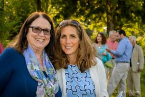 Farm to Table Dinner (67 of 85) l-r Sharon Feeley, Jodi Wasserstein