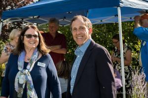 l-r Sharon Feeley, Gary Westerman