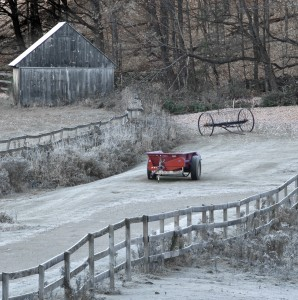 Farm After Snow Flurry by: Rick Sereque