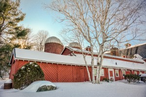 Barn After the Snowstorm by: Linda Sereque