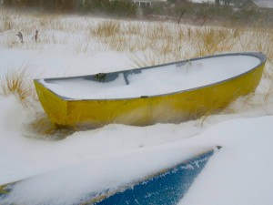 Blizzard 2017 Yellow Boat by: Paul Doherty