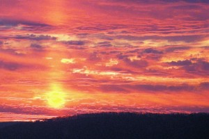 Clouds Ablaze by: Clarice Azzoni